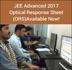 JEE Advanced 2017 Optical Response Sheet (ORS) Available Now!