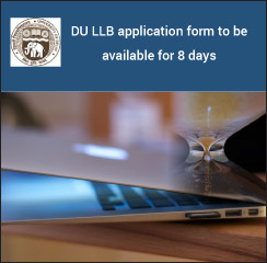 DU LLB 2017: Application window to be open for 8 days; will close on June 20