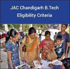 JAC Chandigarh B.Tech Eligibility Criteria 2017