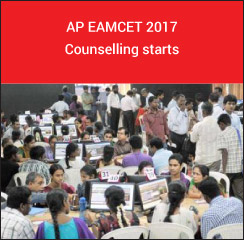 AP EAMCET 2017 Counselling starts