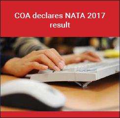 COA declares NATA 2017 result