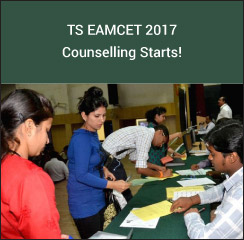 TS EAMCET 2017 Counselling Starts!