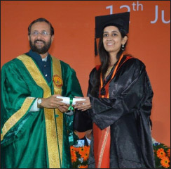 UPES holds its 15th Annual Convocation