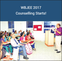 WBJEE 2017 Counselling starts!