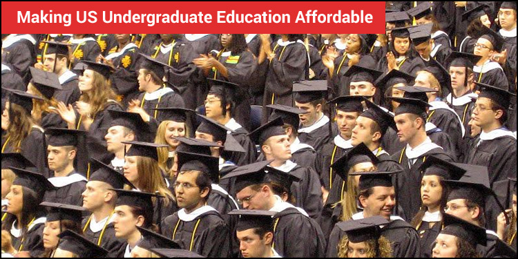 Making US Undergraduate Education Affordable: Exploring Different Sources of Funding