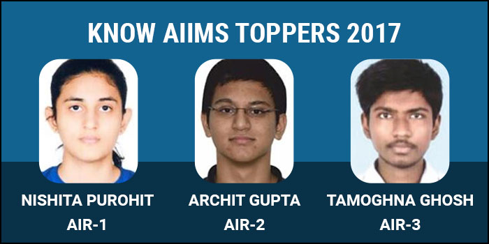 AIIMS MBBS 2017: Know the Toppers