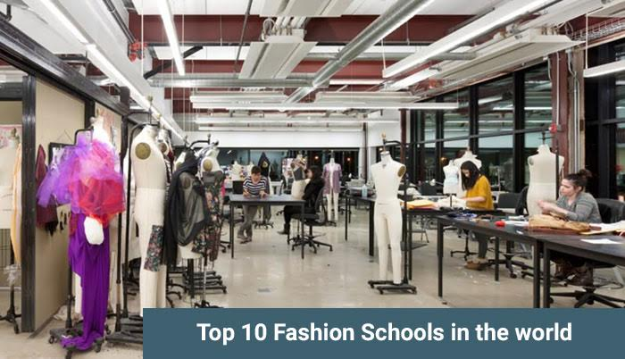Top 10 Fashion Schools in the world