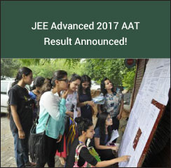 JEE Advanced 2017 AAT Result Announced!