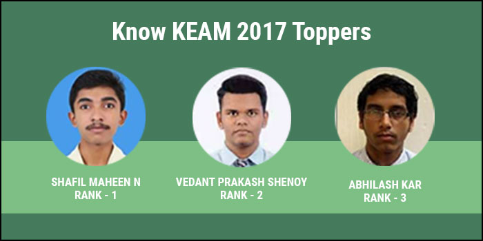 KEAM 2017 Toppers