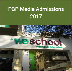 WeSchool announces PGP Media and Entertainment admissions 2017