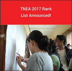 TNEA 2017 Rank List Announced