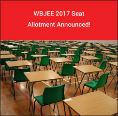 WBJEE 2017 Seat Allotment Announced!