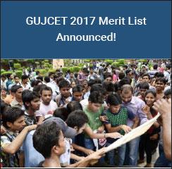 GUJCET 2017 Final Merit List Announced!