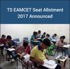 TS EAMCET Seat Allotment 2017 Announced