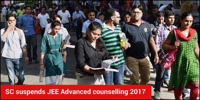 SC suspends JEE Advanced counselling 2017; decision deferred till July 10
