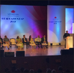 VidyaGyan school hosts second graduation ceremony