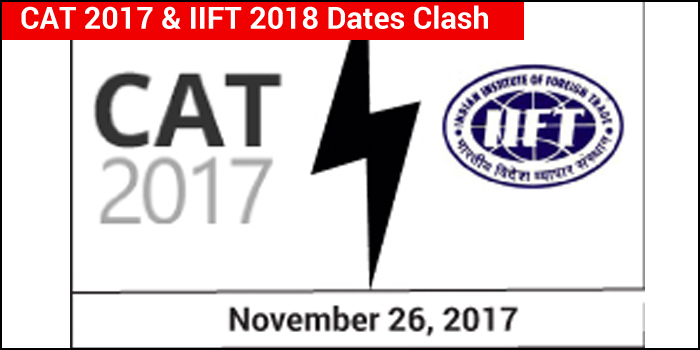 CAT 2017: Exam date clashes with IIFT 2018