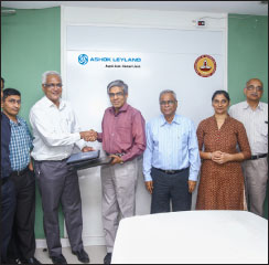 Ashok Leyland partners with IIT Madras to sponsor 'Centre of Battery Engineering'