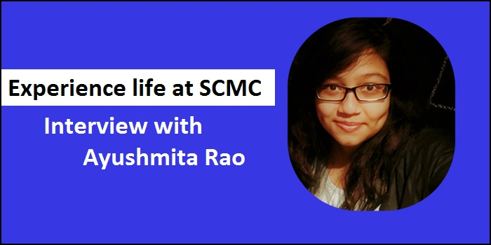 "Experience life at Symbiosis with Ayushmita Rao: ""Internships across different media sectors are stepping stones to build good career"""