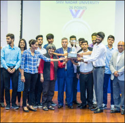 Shiv Nadar University wins Banyan League tournament conducted by BML Munjal University