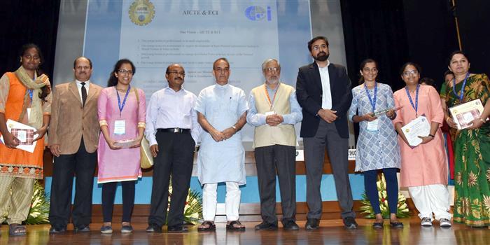 7 Teams bag AICTE-ECI Chhatra Vishwakarma Awards for innovative solutions