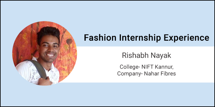 Design Internship Experience: How NIFT Kannur student Rishabh Nayak learned to apply theory into practice