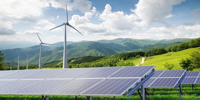 Working in renewable energy sector