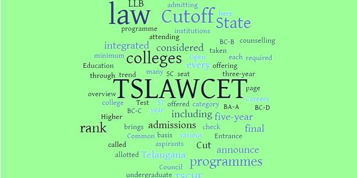 TS LAWCET Cut off 2018