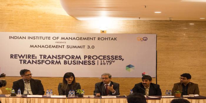 IIM Rohtak hosts Management Summit 3.0: GST discussed as Innovative Tax Reform