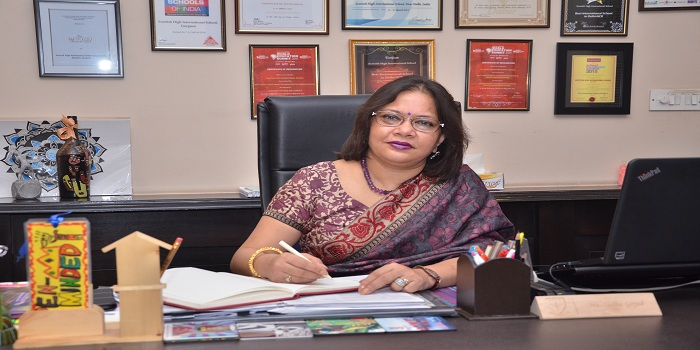 'IB students are given concessions in credit points,' says Sudha Goyal, Director, Scottish High International School
