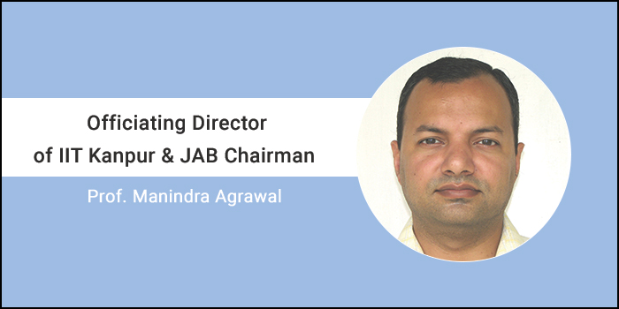 "JEE Advanced 2018- ""Expect flexibility"" says officiating Chairman of JAB, Prof. Manindra Agrawal (IIT Kanpur)"