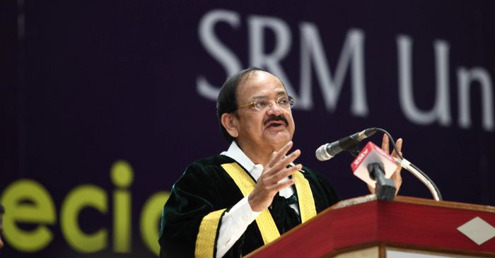 SRM Special Convocation- Venkaiah Naidu says education must be relevant to digital age