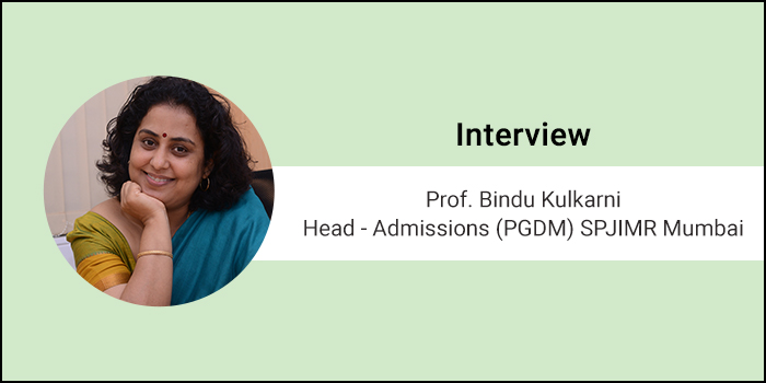 MBA curriculum needs to stay aligned with industry trends, says Prof. Bindu Kulkarni, Admission Head, SPJIMR Mumbai