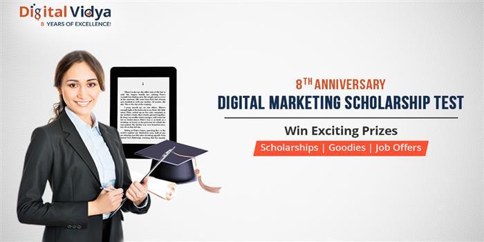 Digital Vidya conducts Digital Marketing Scholarship Test till December 13