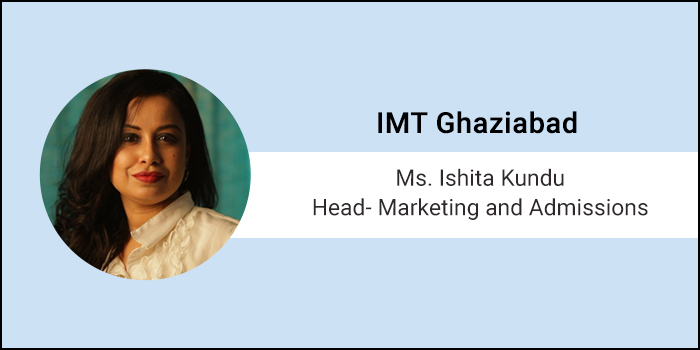 Careers360 Live Chat: Q&A with Ishita Kundu, Head- Marketing and Admissions at Institute of Management Technology Ghaziabad