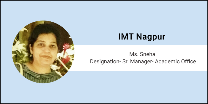 Careers360 Live Chat: Q&A session with Snehal, Sr. Manager- Academic Office at Institute of Management Technology, Nagpur