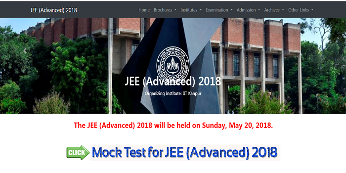 JEE Advanced 2018 Mock Test Available Now