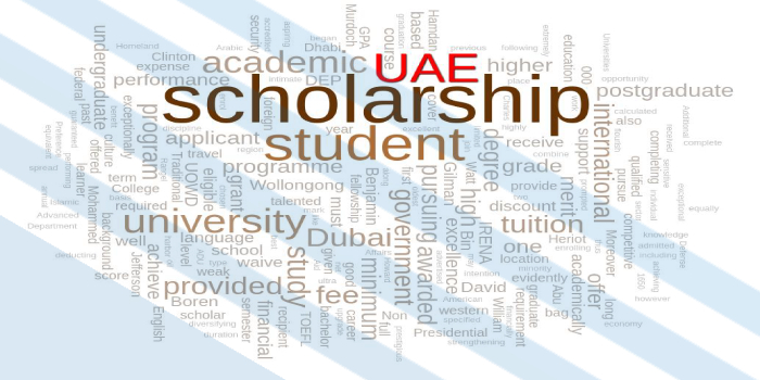 Scholarships for higher Studies in UAE