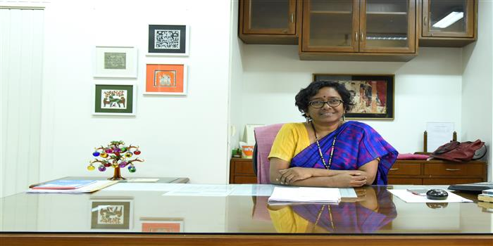 """For any Institution, it is important to be modern, relevant"", says Sarada Muraleedharan, IAS, Director General, NIFT"