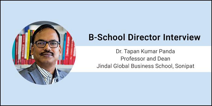 We need more job creators than job seekers, says Dr. Tapan Kumar Panda, Dean, JGBS, Sonipat