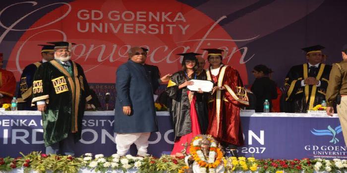 GD Goenka University celebrates its 3rd Annual Convocation