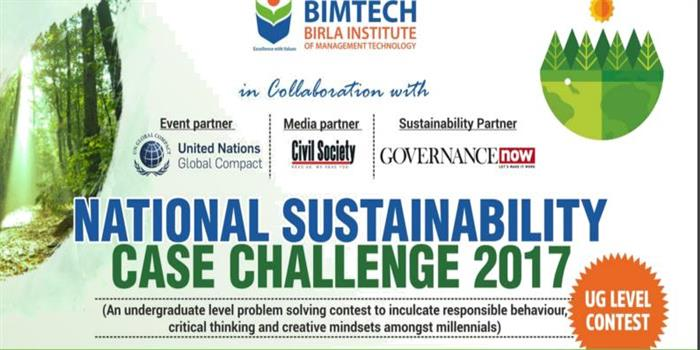 BIMTECH to conduct National Sustainability Case Challenge 2017, register till January 3