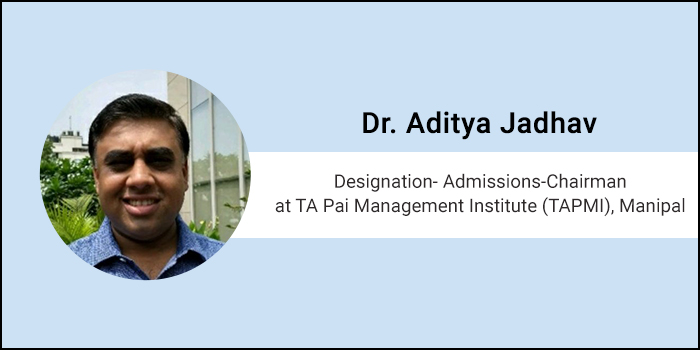 Careers360 Live Chat: Q&A session with Dr. Aditya Jadhav, Admissions-Chairman, TAPMI