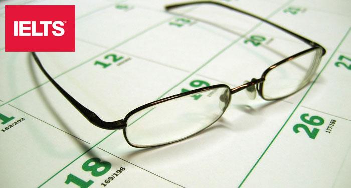 IELTS Test Dates 2018