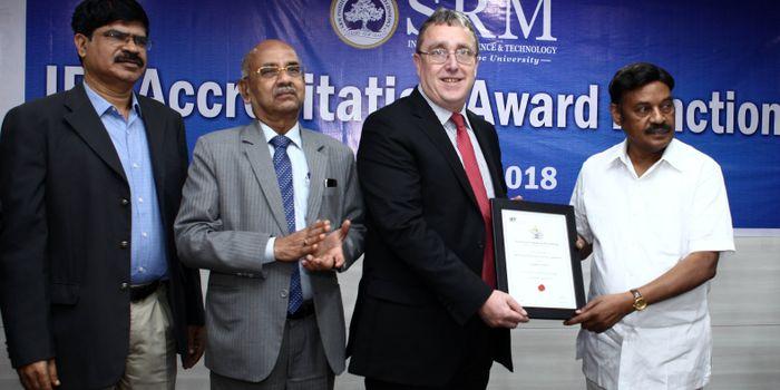 SRM University gets IET Accreditation