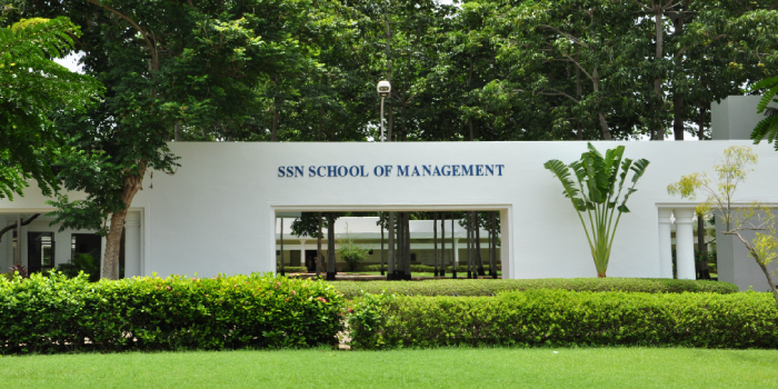 SSN School of Management announces MBA Admission 2018