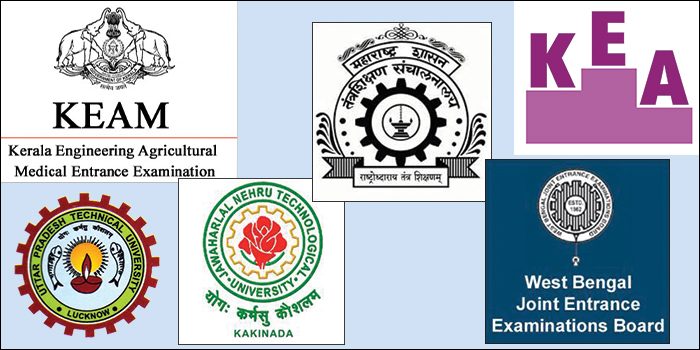Top State Engineering Entrance Exams in India