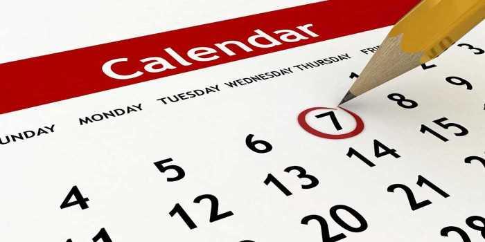UPSEE MBA Important dates 2018
