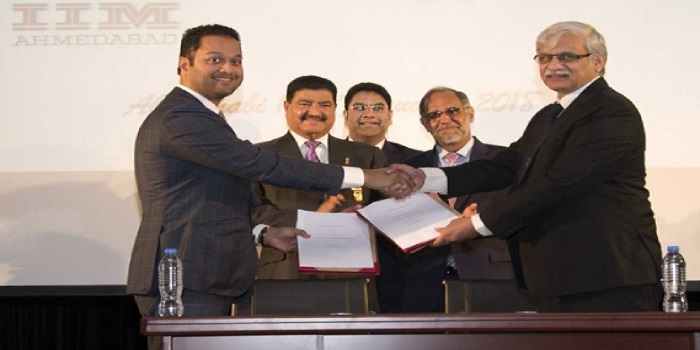 IIM Ahmedabad signs MoU with BRS Ventures to launch International Extension Center in Dubai