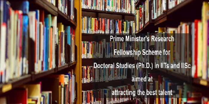 Prime Minister's Research Fellowship (PRMF) 2018